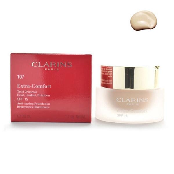 Clarins Extra Comfort SPF 15 107 Beige Foundation