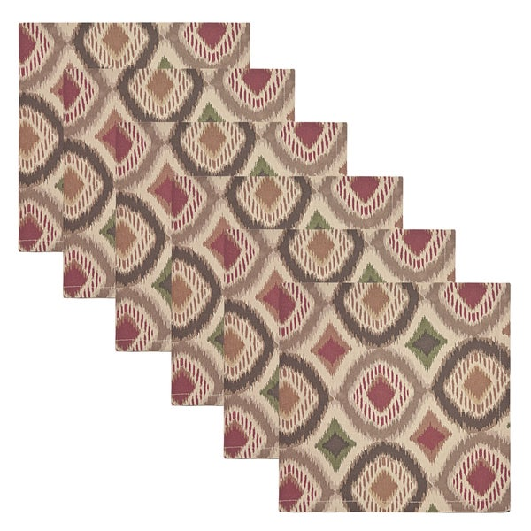 Ikat Geo Cotton Napkins (set of 6)