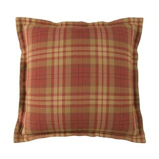 Harrison 20-inch Square Plaid Pillow