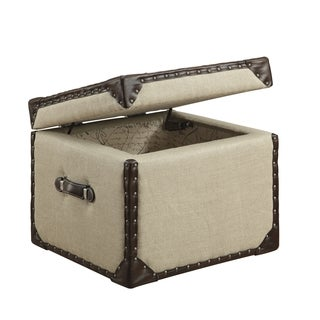 Humphrey Storage Cube End Table