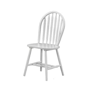 White Windsor Back Dining Chair (Set of 2)