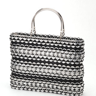 Handmade Soda Pull Tab and Tire Cocktail Bag (Mexico)