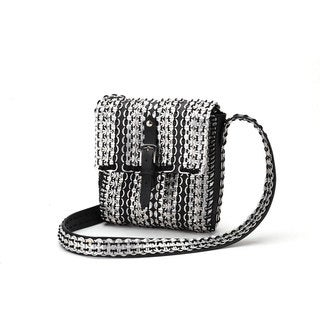 Soda Pull Tab and Tire 'Col' Shoulder Bag - Imaginarte (Mexico)