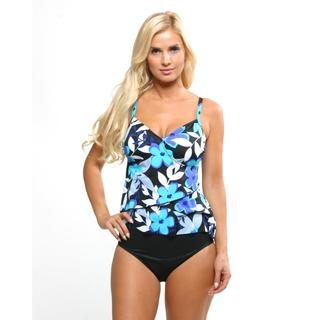 Miraclesuit Women's Tropical Floral Tankini Set