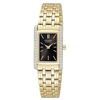 Citizen Women's EK1122-50E 'Classic' Gold-tone Stainless Steel Watch