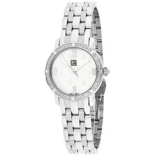 ESQ Women's 07101062 Simone Round Silvertone Bracelet Watch