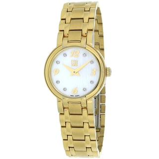 ESQ Women's 07101336 Cassidy Round Goldtone Bracelet Watch
