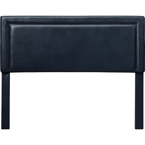 Skyline Furniture Upholstered Headboard In Micro Suede Lazuli Blue