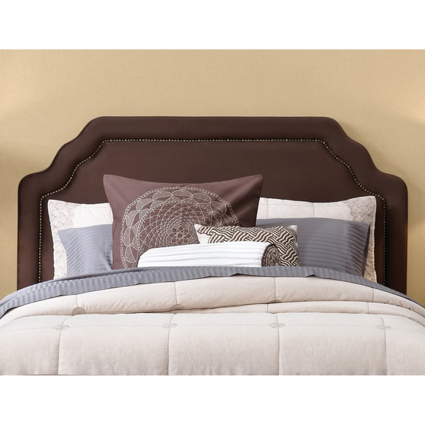 Art Van Carlyle King Choc Headboard