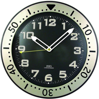 11'' Round Glow-in-the-Dark Wall Clock