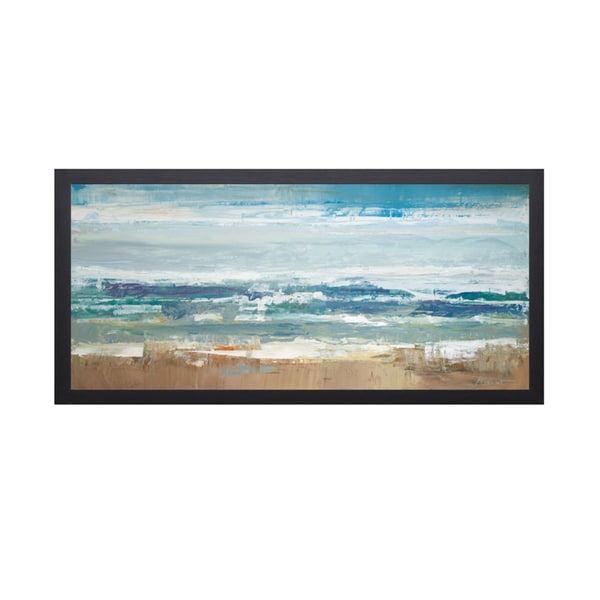 Peter Colbert 'Pastel Waves' Framed Art Print