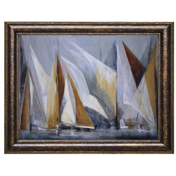 Mar'a Antonia Torres-Ocean Regatta 40 x 28 Framed Art Print
