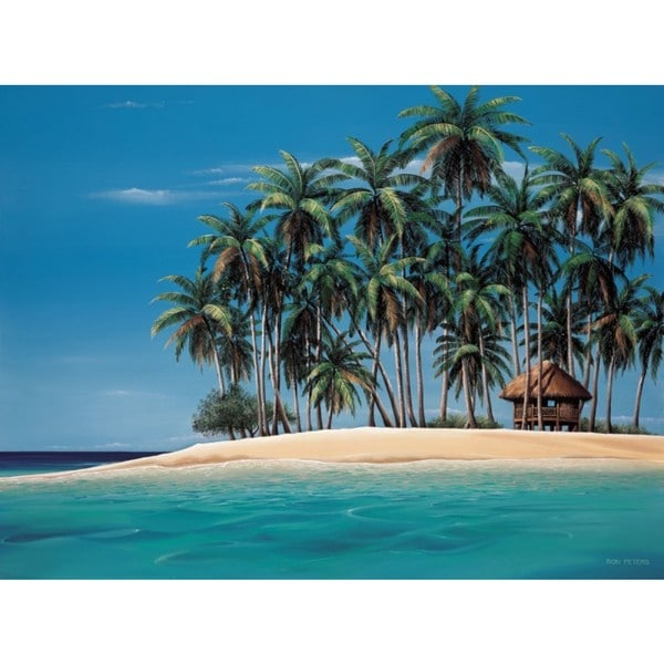 Ron Peters-Tiki Time 40 x 30 Gallery Wrap Canvas