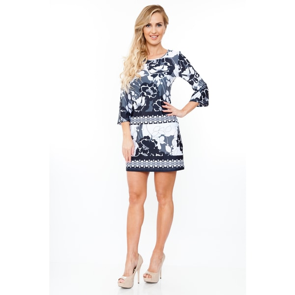 White Mark Women's 'Bridget' Dress