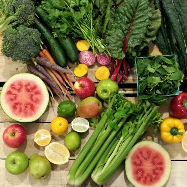 Rustic Roots Delivery Fresh Mixed Produce Juicing Bundle (Local Delivery)