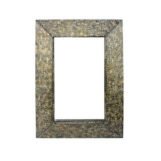1 Wall Gold Metal Mirror