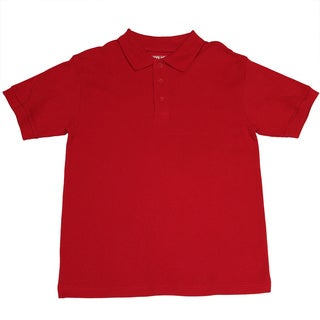 Genuine School Uniform Children's Unisex Short Sleeve Pique Polo Shirt