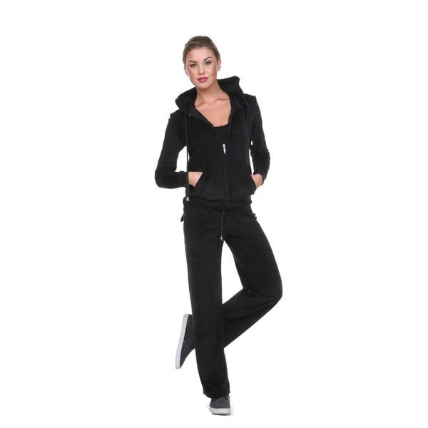 Stanzino Women's Velour Sweatsuit