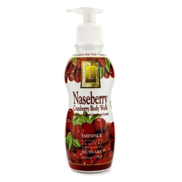Eminence Organic Skincare Naseberry Cranberry 8.4-ounce Yogurt Body Wash