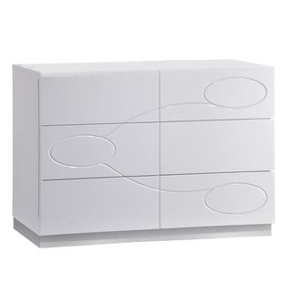 White High Gloss Dresser