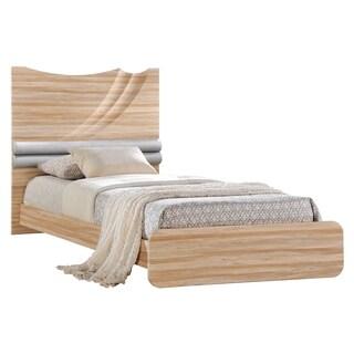 Zebra Cherry High Gloss Twin Bed