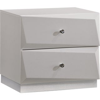 Nightstand Silver Line High Gloss