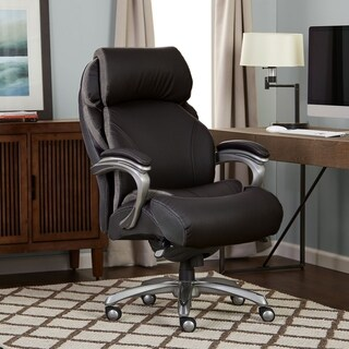 Serta Big and Tall Smart Layers Tranquility Executive Office Chair with AIR Technolog