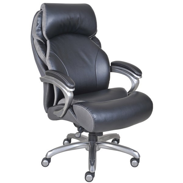 serta big tall smart layers executive office chair with air