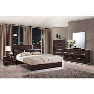 Tribeca (110) Wood Grain Queen Bed