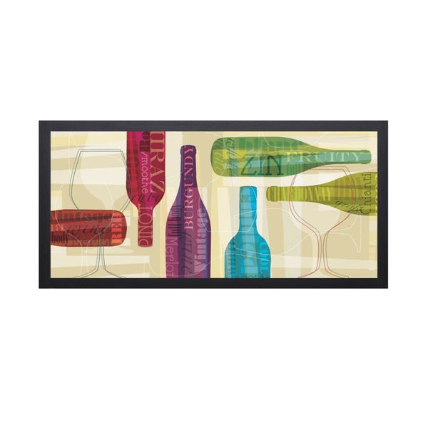 Tandi Venter-All Bottled Up-40 x 22 Framed Art Print