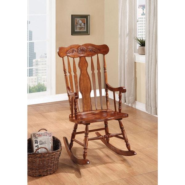Joel Oak Rocking Chair