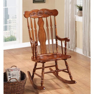 Joel Oak Rocking Chair