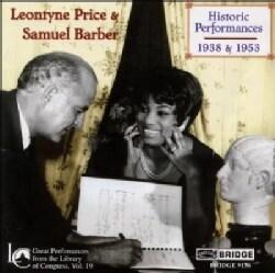 Leontyne Price - Historic Performances 1938-1953