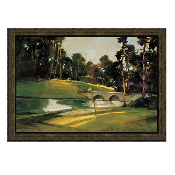 Ted Goerschner-The 9th Tee 34 x 28 Framed Art Print
