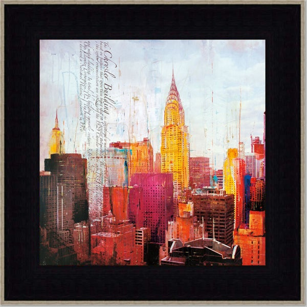 Markus Haub 'The City that Never Sleeps ll' Framed Art Print