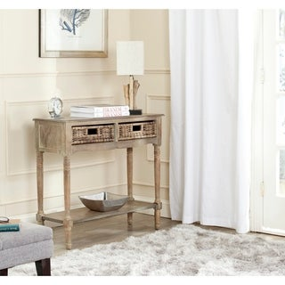 Safavieh Corbin Washed Natural Pine Console