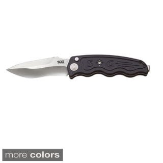 SOG-TAC Automatic Tactical Drop Point Folding Knife