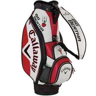 Callaway Men's Big Bertha Mini Staff Red/White Cart Bag