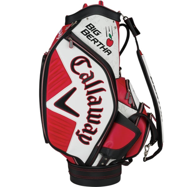 Callaway Men's Big Bertha Staff Red/White Cart Bag