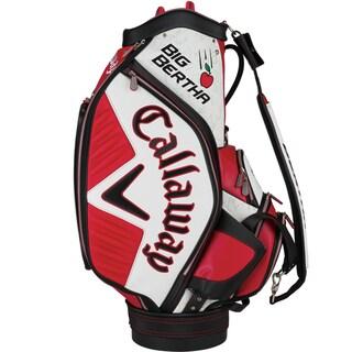 Callaway Men's Big Bertha Staff Red/White Cart Bag