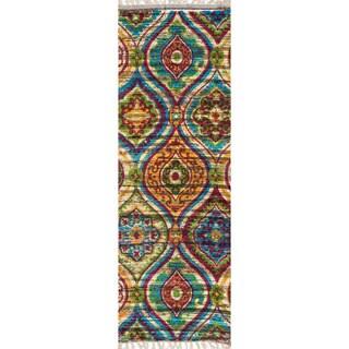 Flatweave Maria Multi Runner Rug (1'9 x 5'0)