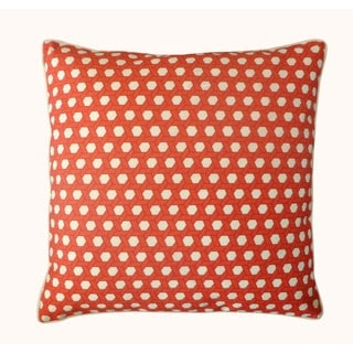 Jiti Outdoor Lanyard Red 20-inch Square Pillow
