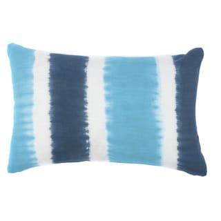 Jiti Tie-dye Bands Blue Steel 24-inch Long Pillow