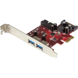 StarTech.com 4-port PCI Express USB 3.0 Card - 2 External, 2 Internal
