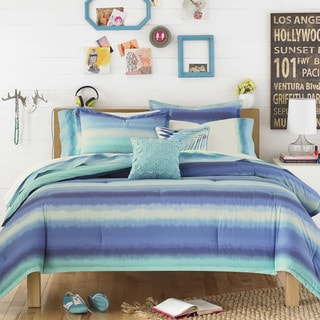 Teen Vogue Electric Beach Blue 3-piece Comforter Set