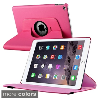 Insten Swivel Snap-on Leather Fabric Tablet Case Cover with Stand For Apple iPad Air 2
