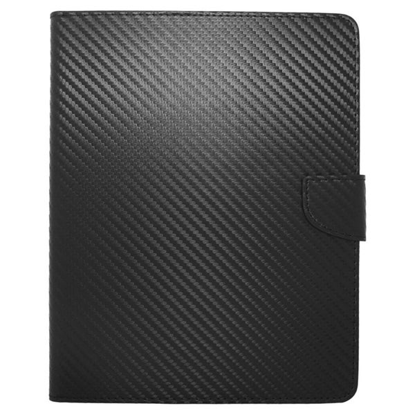 Insten Folio Flip Snap-on Leather Fabric Case Cover with Stand For 8-inch Samsung Galaxy Tab 3/ 4