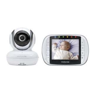 "Motorola MBP36S Digital Video Baby Monitorwith 3.5"" Diagonal Color Screen"