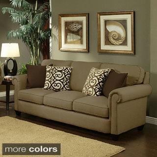 Furniture of America Bellissa Elegant Chenille Sofa