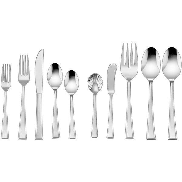 Cuisinart 45-Piece Mylene Stainless Steel Flatware Set
